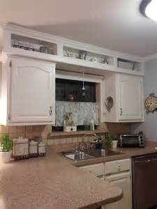 Kitchen Soffit Color Ideas by Update From Outdated Soffits To Usable Space Hometalk