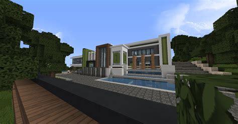 grande maison moderne minecraft minecraft grande maison moderne 233 quipement de maison