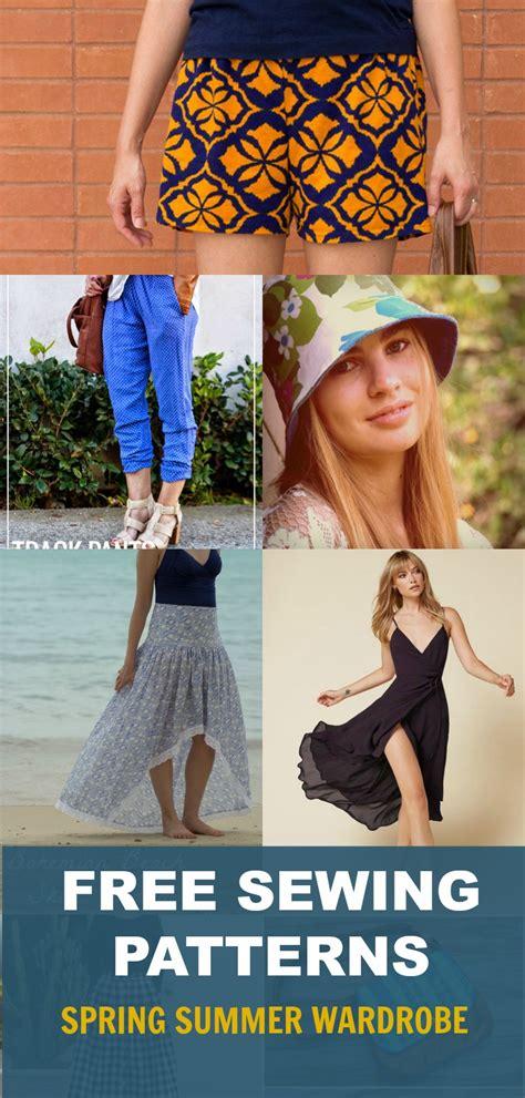 sewing patterns spring wardrobe  women