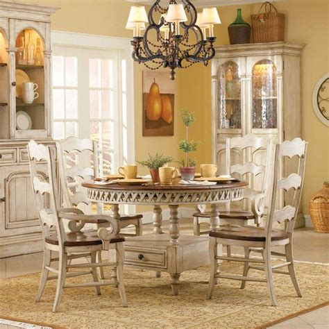 summerglen  piece set  hooker furniture homes dining table  storage dining furniture