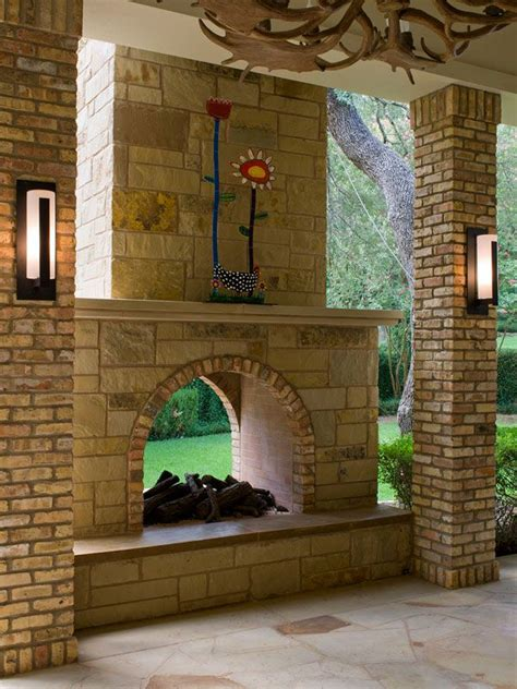 2 Sided Outdoor Fireplace - 17 best ideas about outdoor fireplaces on