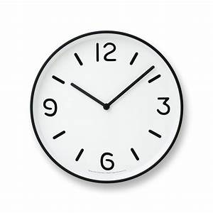 Mono Wall Clock in White design by Lemnos – BURKE DECOR