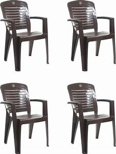 Cello furniture plastic living room chair price in india for Plastic furniture for living room