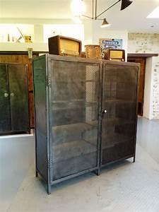 Armoire Industrielle Vintage : armoire industrielle xxl vintage ~ Teatrodelosmanantiales.com Idées de Décoration