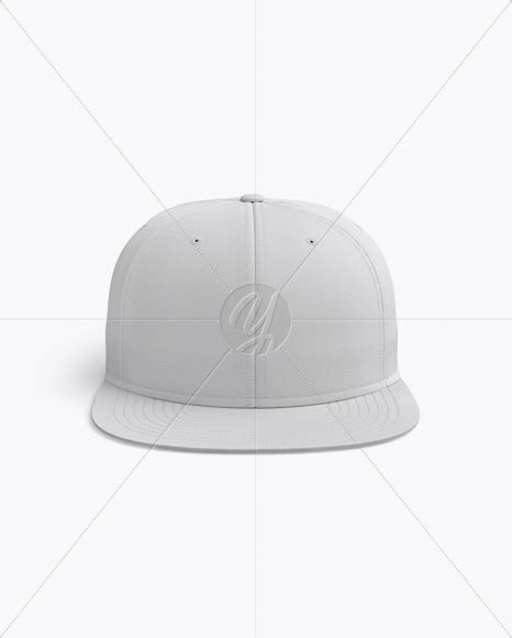 Includes special layers and smart objects for your creative works. Flex Cap mockup (Front View) in Apparel Mockups on Yellow ...