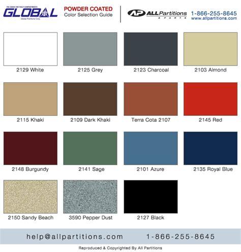 global color sitemap