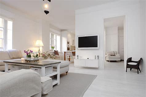 canapé ultra design estilo moderno en blanco absoluto apartamentos modernos