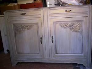 relooker un meuble en bois 8 vieux buffet des ann233es With relooker un vieux meuble