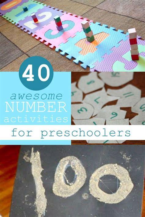 40 Awesome Number Activities for Preschoolers | Preschool ...