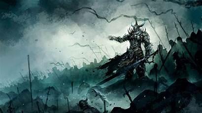 Knight Fantasy Wallpapers Demon Epic Cool Dark