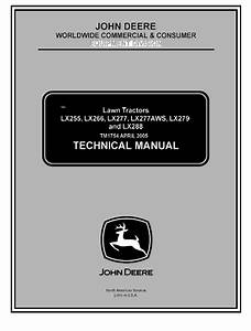 John Deere Lx 255 Manual Diagram