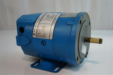 8hp Electric Motor by General Electric Dc Motor 1 8hp 1380 3450rpm 250v 7 A