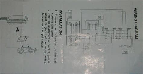 blog de full electronica diagrama de instalacion intercomunicador commax