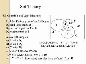 Set Theory And Relation