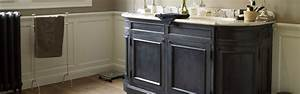 Meuble Double Vasque Noir : meuble salle de bain ancien mobilier sur enperdresonlapin ~ Teatrodelosmanantiales.com Idées de Décoration