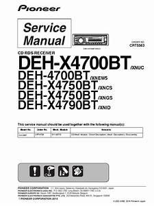 Deh X4700bt Wiring Diagram