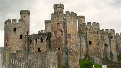 Castle Medieval Castles Wales Walls Wallpapers Ancient