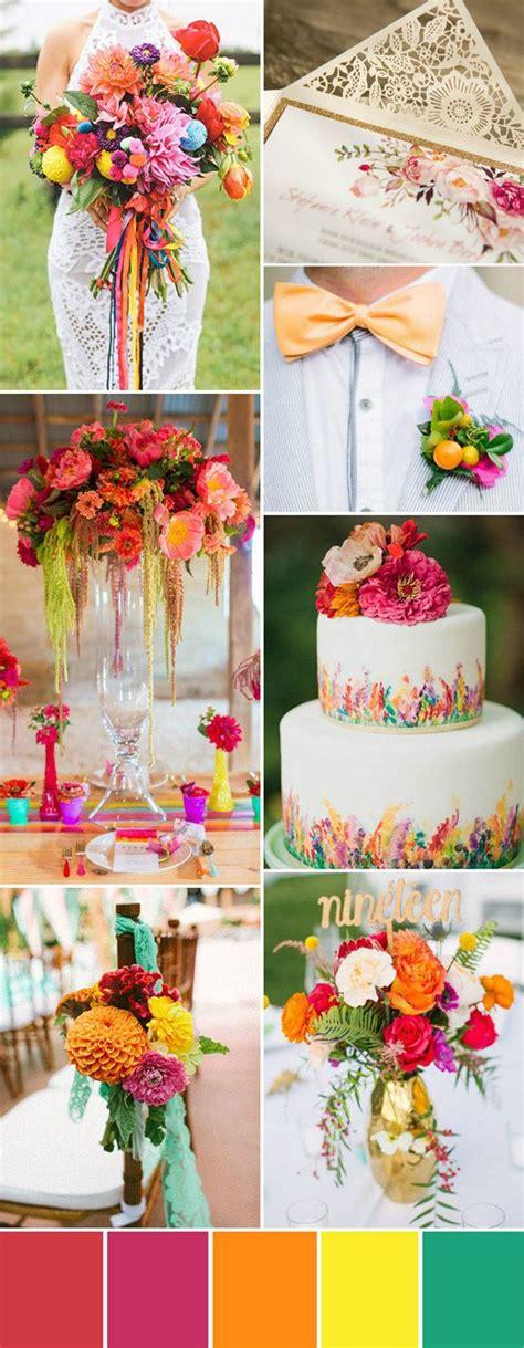 Seven Wedding Color Palettes For 2016 Summer Wedding