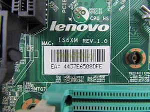 Lenovo Is6xm Motherboard Manual
