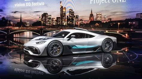 Mercedes-amg Project One Bursts Into Frankfurt With 1,000 Hp
