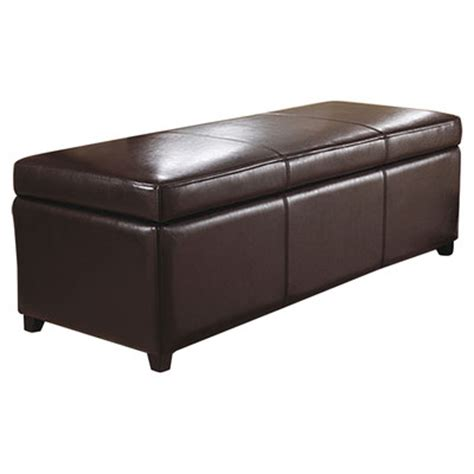 large square storage ottoman simpli home avalon large rectangular storage ottoman