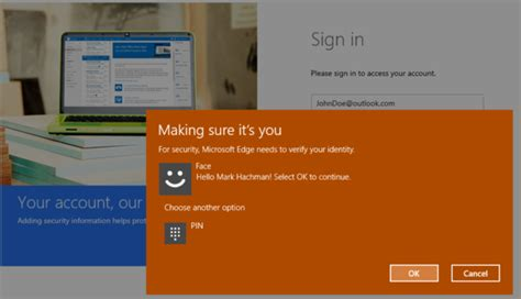 you can try out windows hello biometric logins for the web