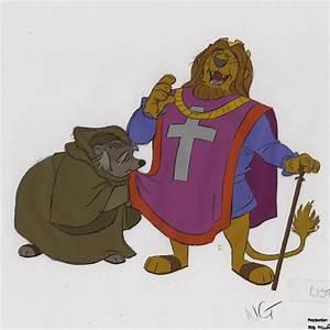 auction.howardlowery.com: Disney ROBIN HOOD Animation ...