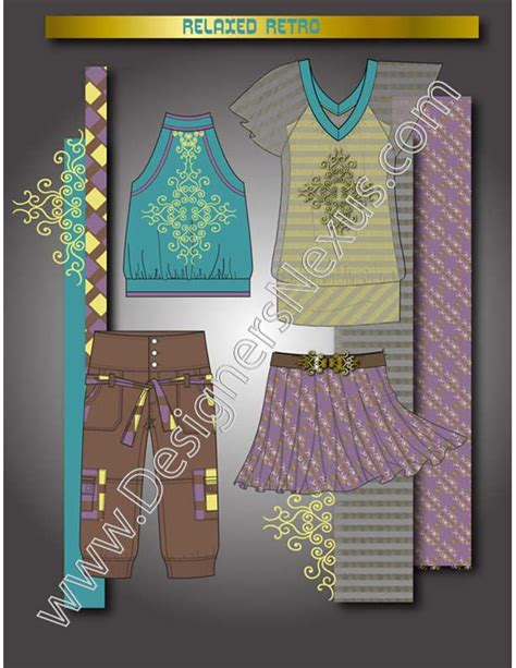 fashion design portfolio  layout designers nexus