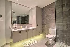 petite salle de bain avec douche et baignoire 10 salles With salle de bain design avec armoire salle de bain