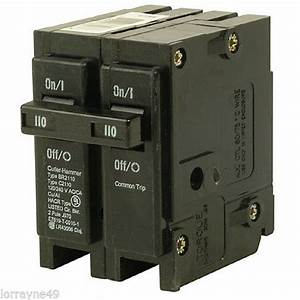 Cutler Hammer Br2100 100a 2 240v Circuit Breaker  New
