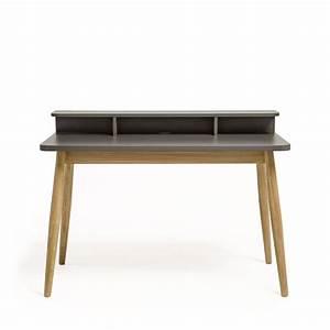 Bureau Design Scandinave Chne Et Laque Farsta Drawer