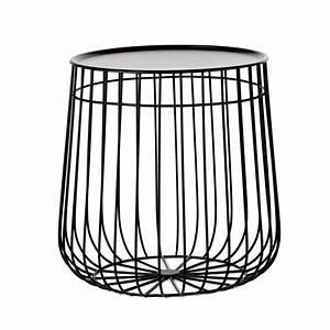 Table D Appoint : wire table d 39 appoint pols potten en fil avec plateau ~ Teatrodelosmanantiales.com Idées de Décoration