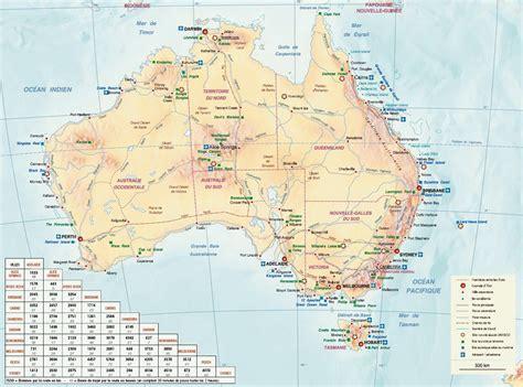 Carte Geographique Du Monde Australie by Carte Australie Carte Du Monde