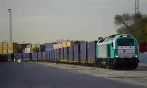 Train Returns To China From Spain On The World's Longest