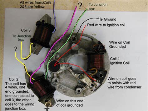 Motorcycle Wiring A Condenser by Modern Vespa Vespa Stator Wiring Blues