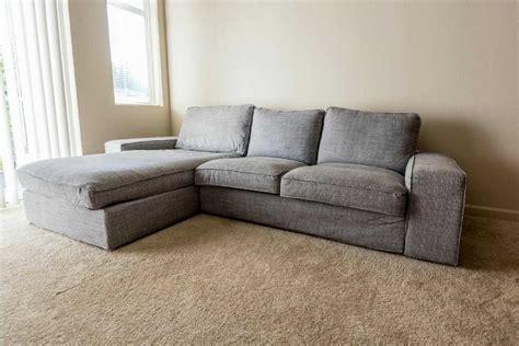 Letgo  Ikea Kivik Sofa With Chaise Lounge In Mill Creek, Wa