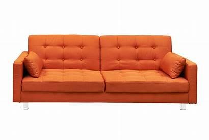 Couch Sofa Transparent Clipart Orange Clip Library