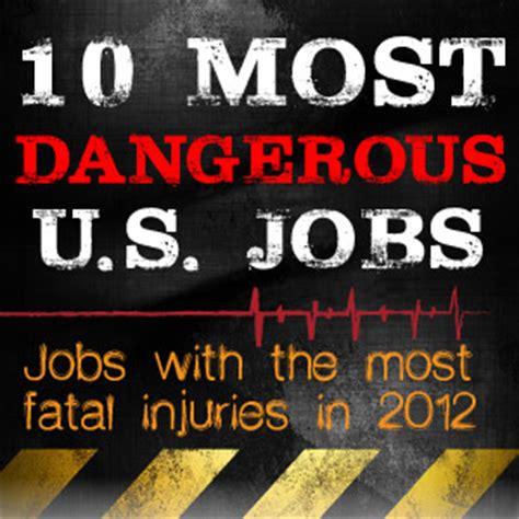 bureau of labour top 10 most dangerous in the us it 39 s not