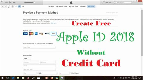 Amex lets you check your status via phone or its website. Create Free Apple ID Without Credit Card 2018 - YouTube