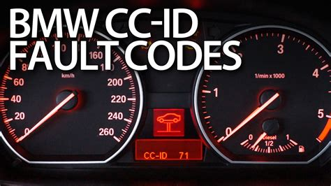 bmw cc id codes fault  warning messages  fixinfo