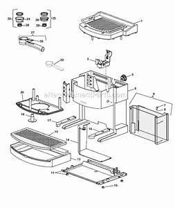 Delonghi Ec702 Parts List And Diagram   Ereplacementparts Com