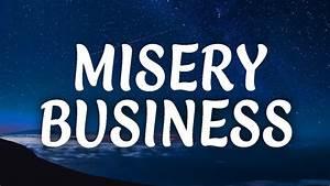 Paramore Misery Business Lyrics Grover Braam Remix