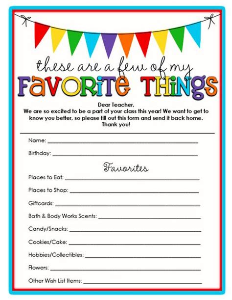things intro template best 25 favorite things ideas on