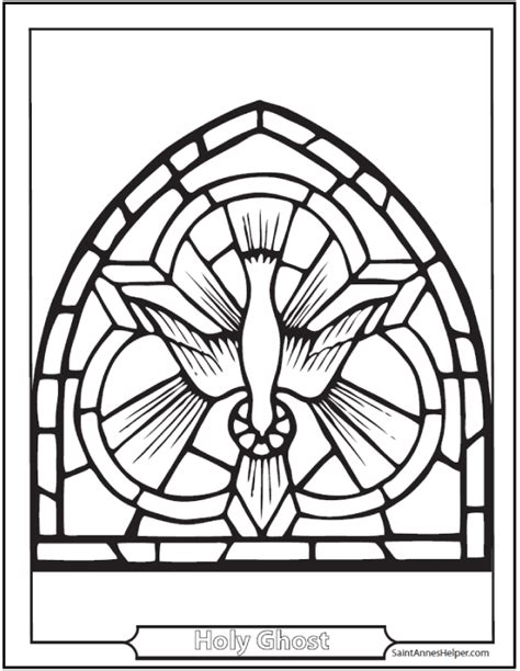 pentecost coloring page holy ghost mary apostles