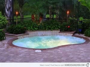 Mini Pool Design : beautiful small pools for your backyard small swimming pools swimming pools and backyard ~ Markanthonyermac.com Haus und Dekorationen