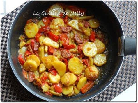 la cuisine de nelly poêlée de pommes de terre poivron fenouil au