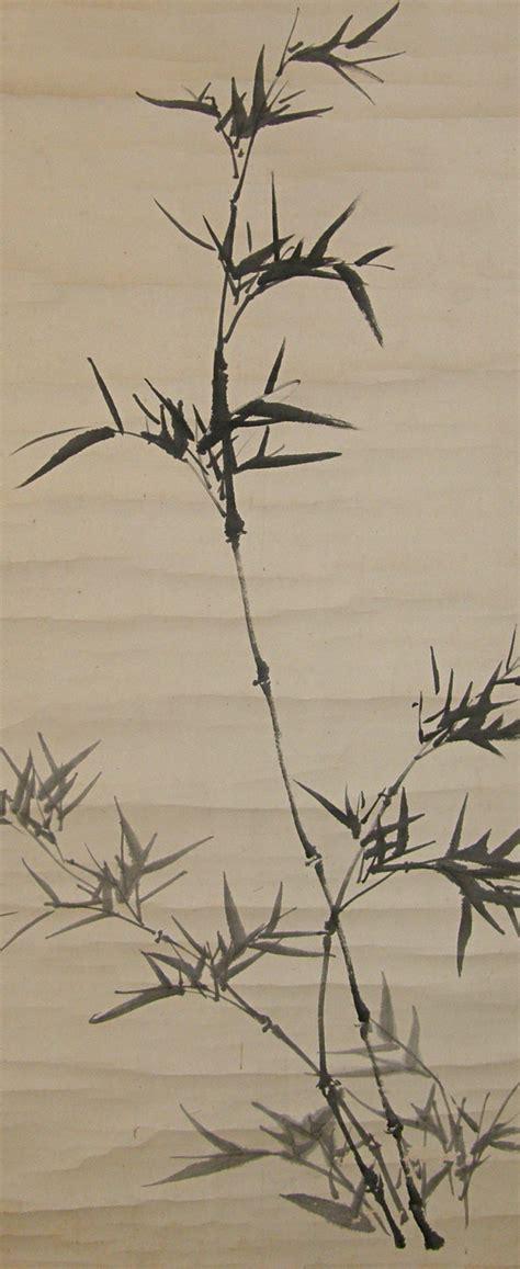 sp  bamboo kanji writing japanese antique