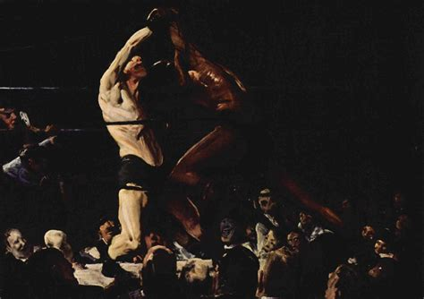 George Bellows Paintings Of Boxers