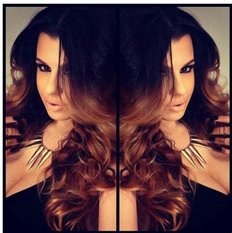 dark brown hair with light brown ombre black light brown ombre hmmm hair pornnn pinterest