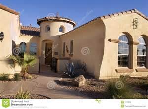 Southwestern Style Houses Ideas Photo Gallery by Southwestern Style Modern Home Stock Photo Image 1913930